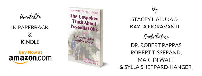 NEW Book: The Unspoken Truth About Essential Oils